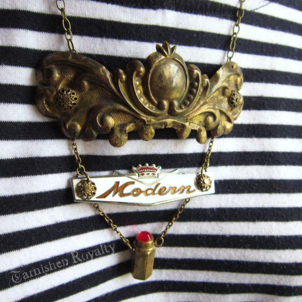 necklace modern lipstick 2